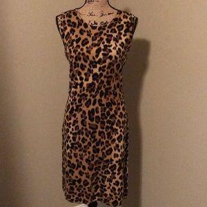 Calvin Klein leopard dress